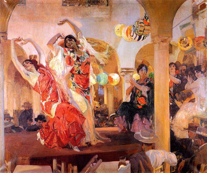 Flamenco à Séville :
