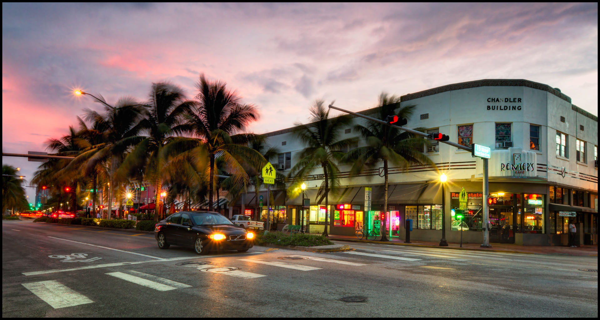 Washington Ave Miami Beach Fl