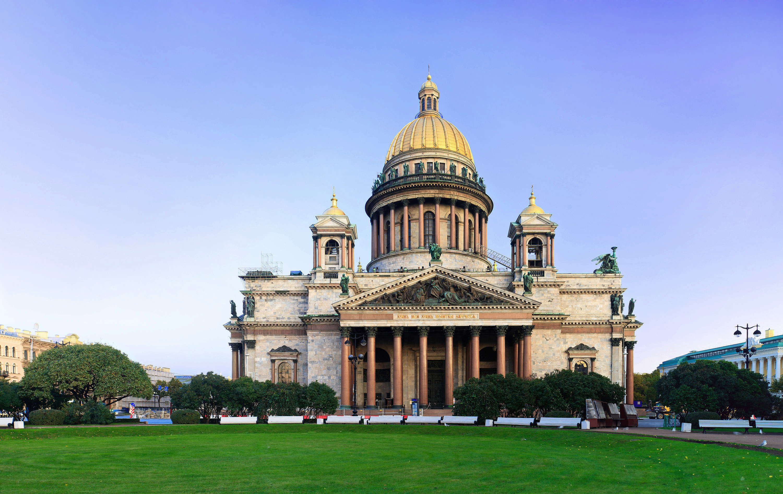Following the St. Isaac's Cathedral, the Russian Orthodox Church wants to receive Tauride Chersonesos 01/23/2017 44