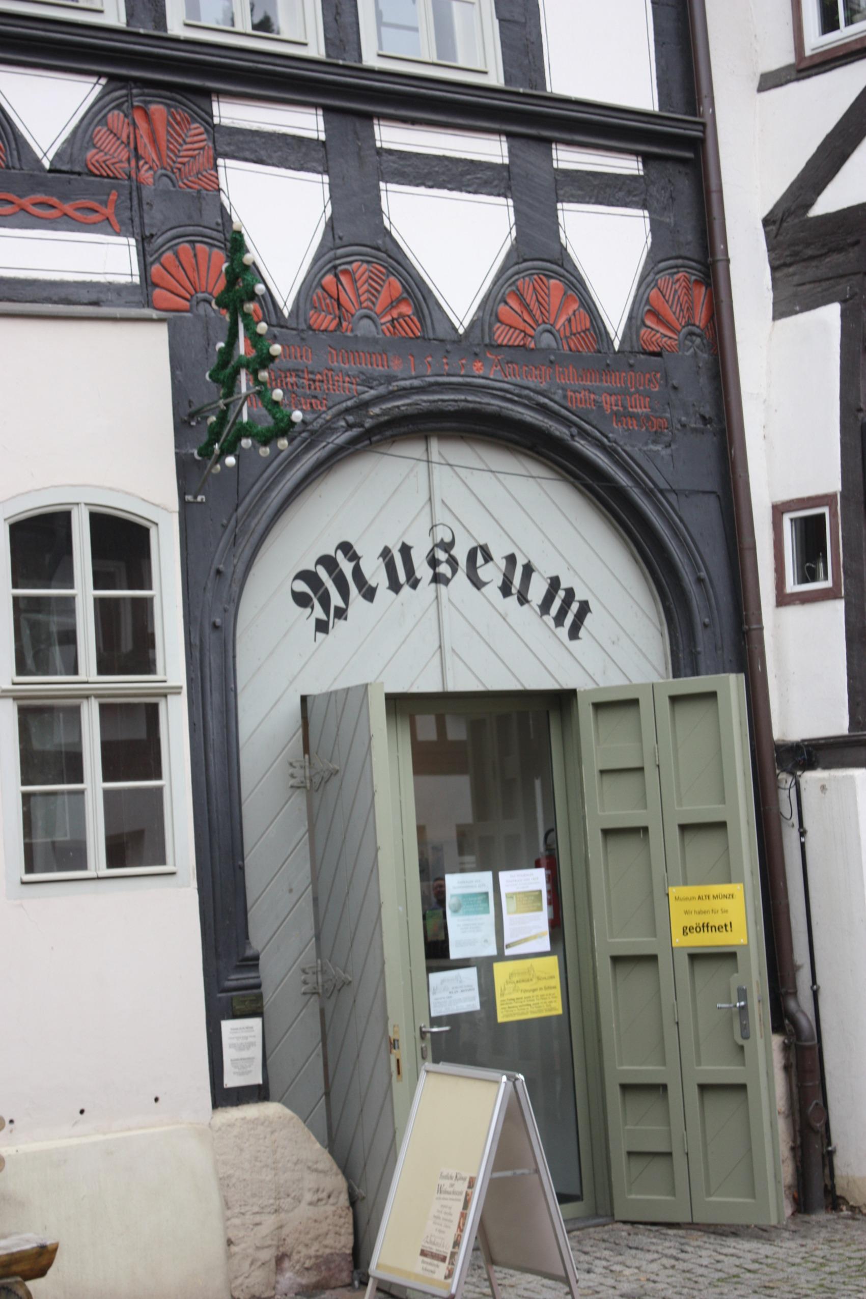 Filestolberg Harz The Entrance To The Museum Alte Münzejpg