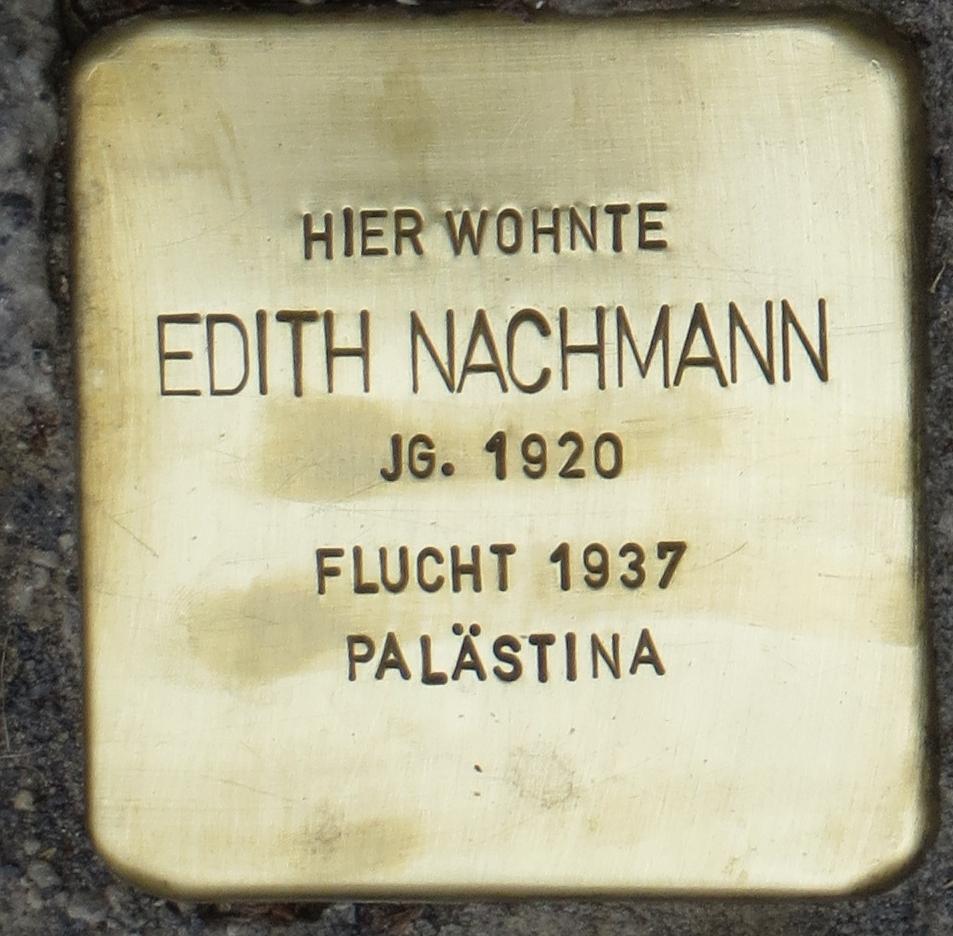 Stolperstein Rastatt Edith Nachmann.jpg