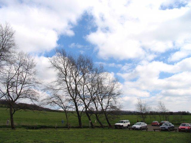 Storrington Rise Car Park at base of Cissbury Ring, Findon - geograph.org.uk - 4476