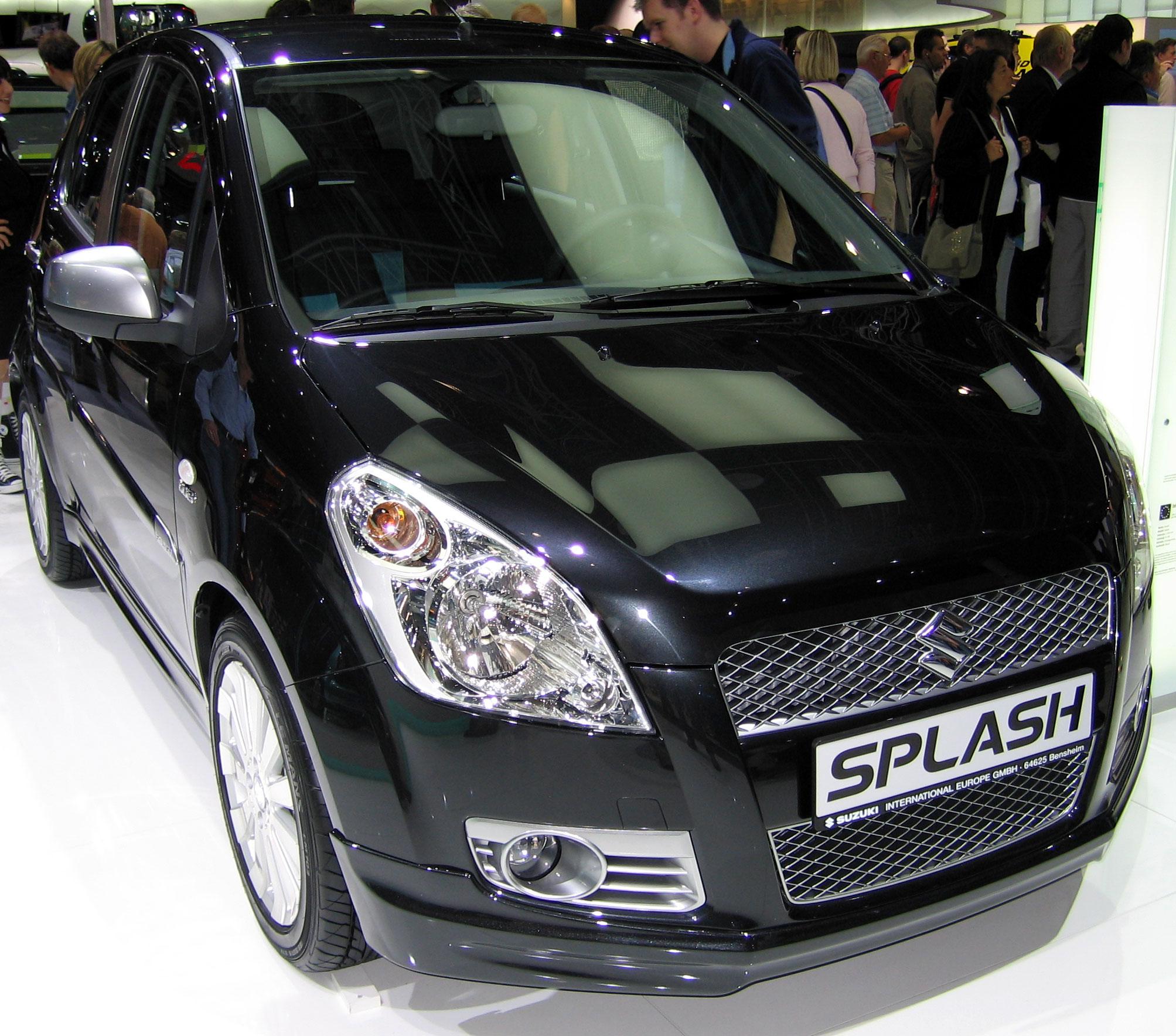 Overview: Suzuki - Splash - Spritmonitor.de