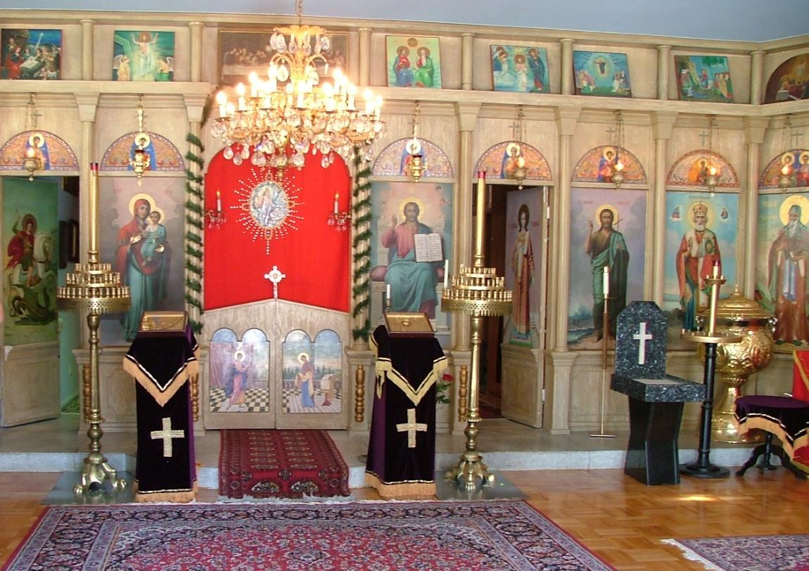 """Резултат с изображение за """"православни църкви в Северна Америка."""""""