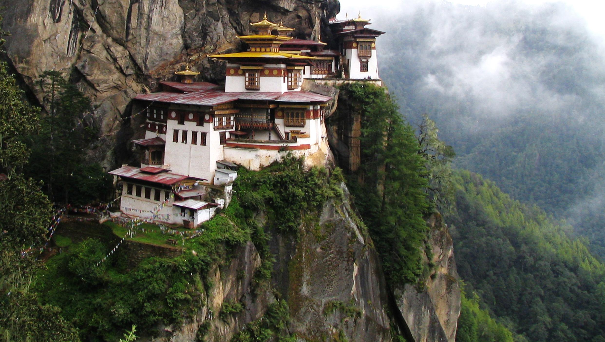 Resultado de imaxes para Paro Taktsang Dzong (Tiger's Nest Monastery)
