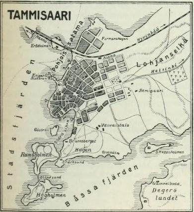 File Tammisaari Map Early 20 Century Jpg Wikimedia Commons