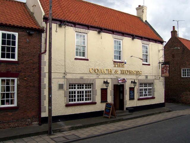 The Coach & Horses, Barton-Upon-Humber. The Coach & Horses, Barton-Upon-Humber, North Lincolnshire.
