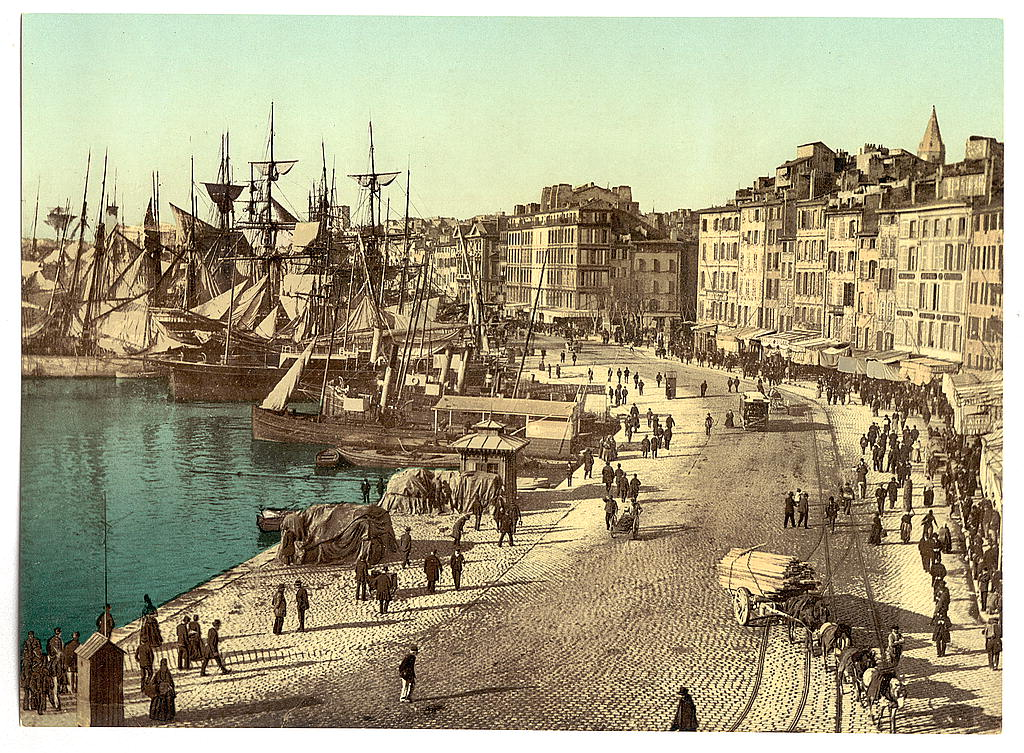 File the library of congress old harbor vieux port marseille france loc jpg - Gite marseille vieux port ...