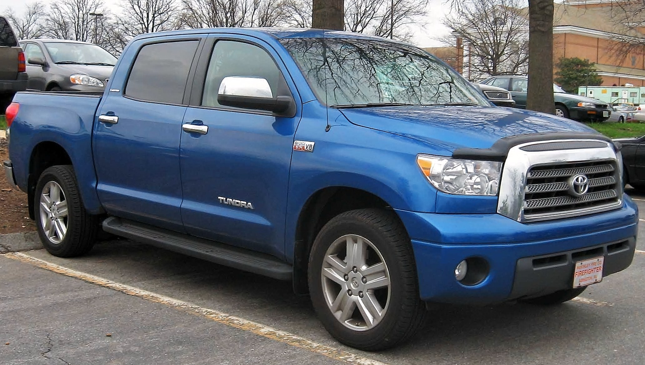 File Toyota Tundra Crew Max Limited Jpg Wikimedia Commons