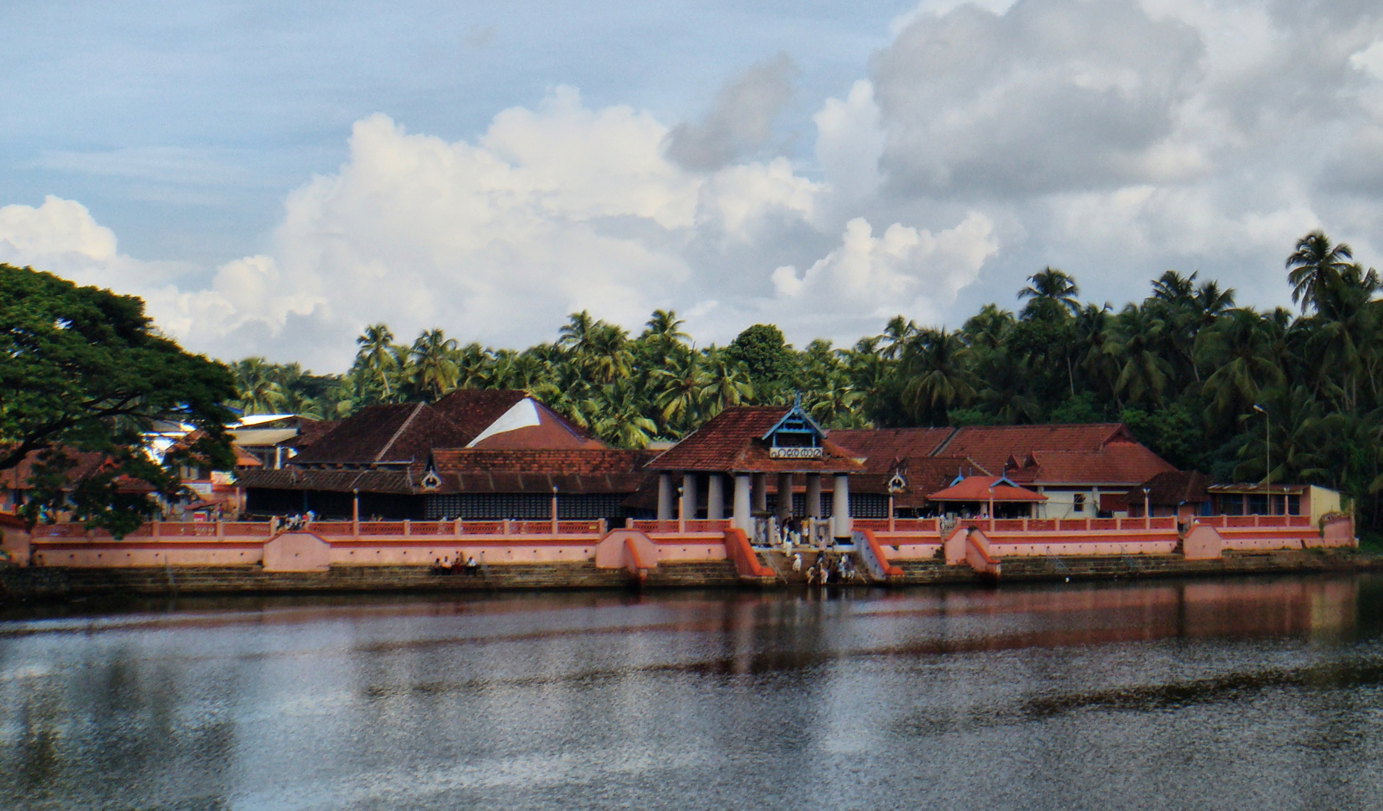English: Triprayar_Sri_Rama_Temple; Kerala; India