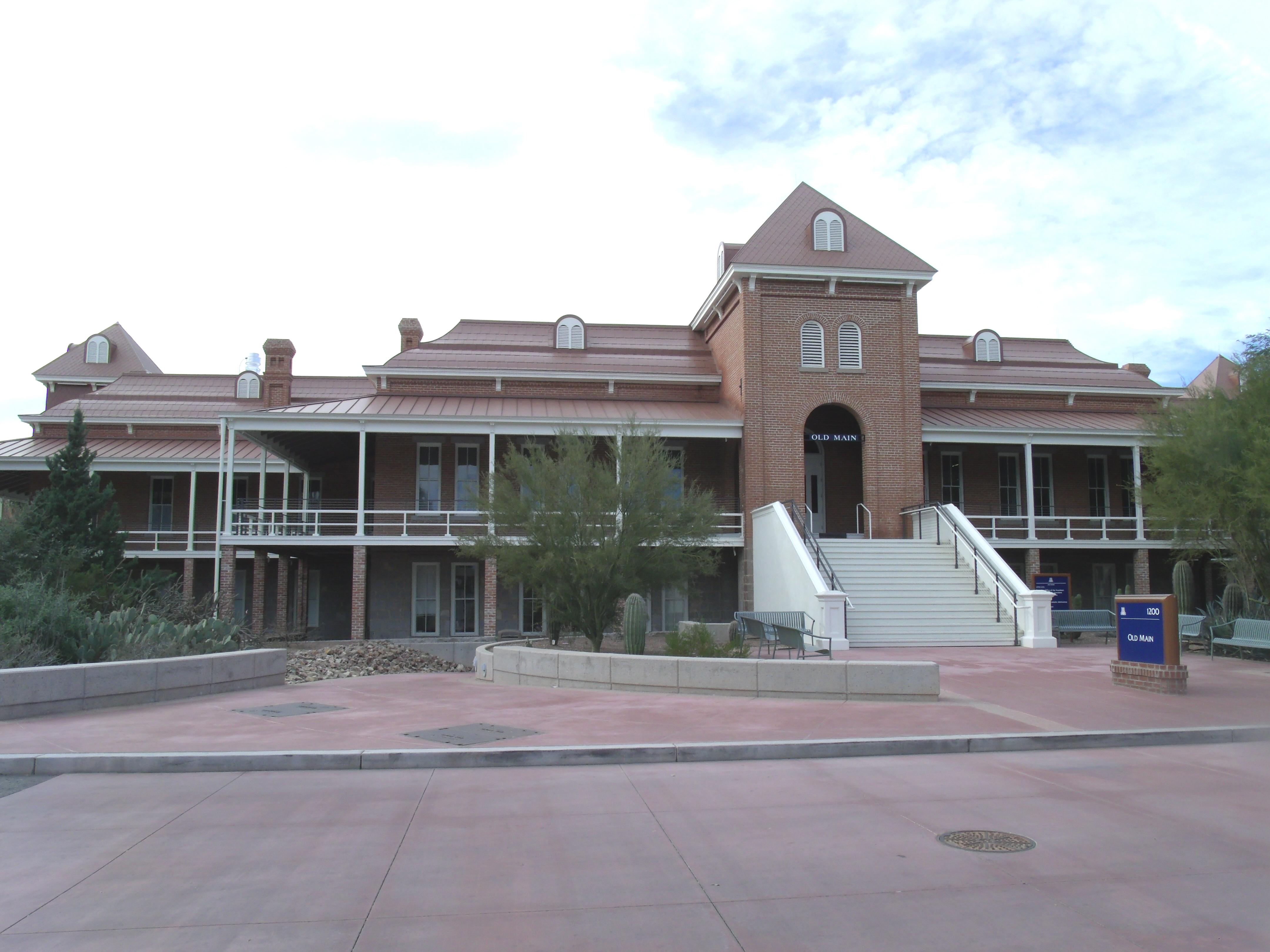 file tucson old main university of arizona building 1875 jpg