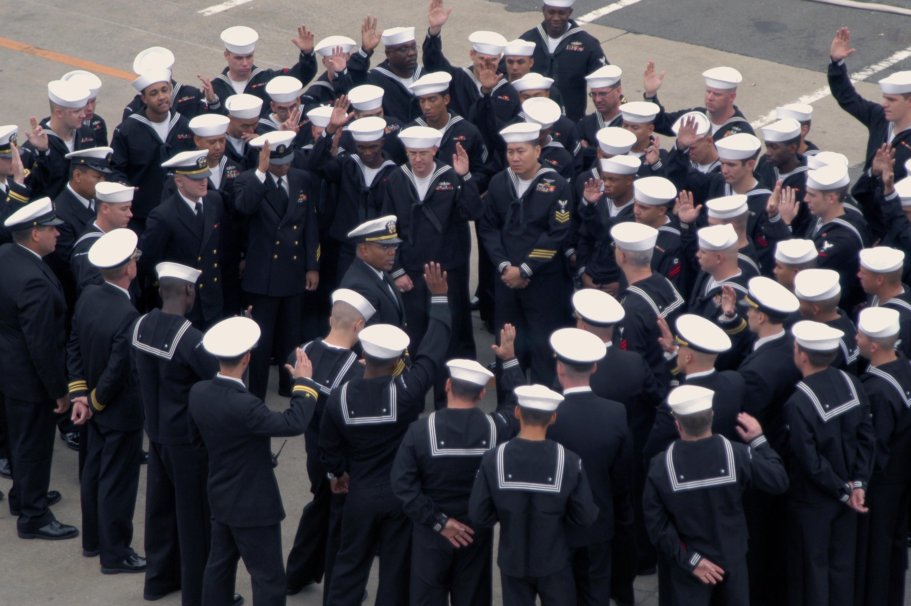 Navy seal dress blues