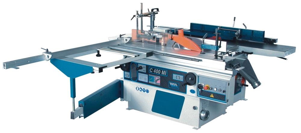 Universal combined woodworking machine