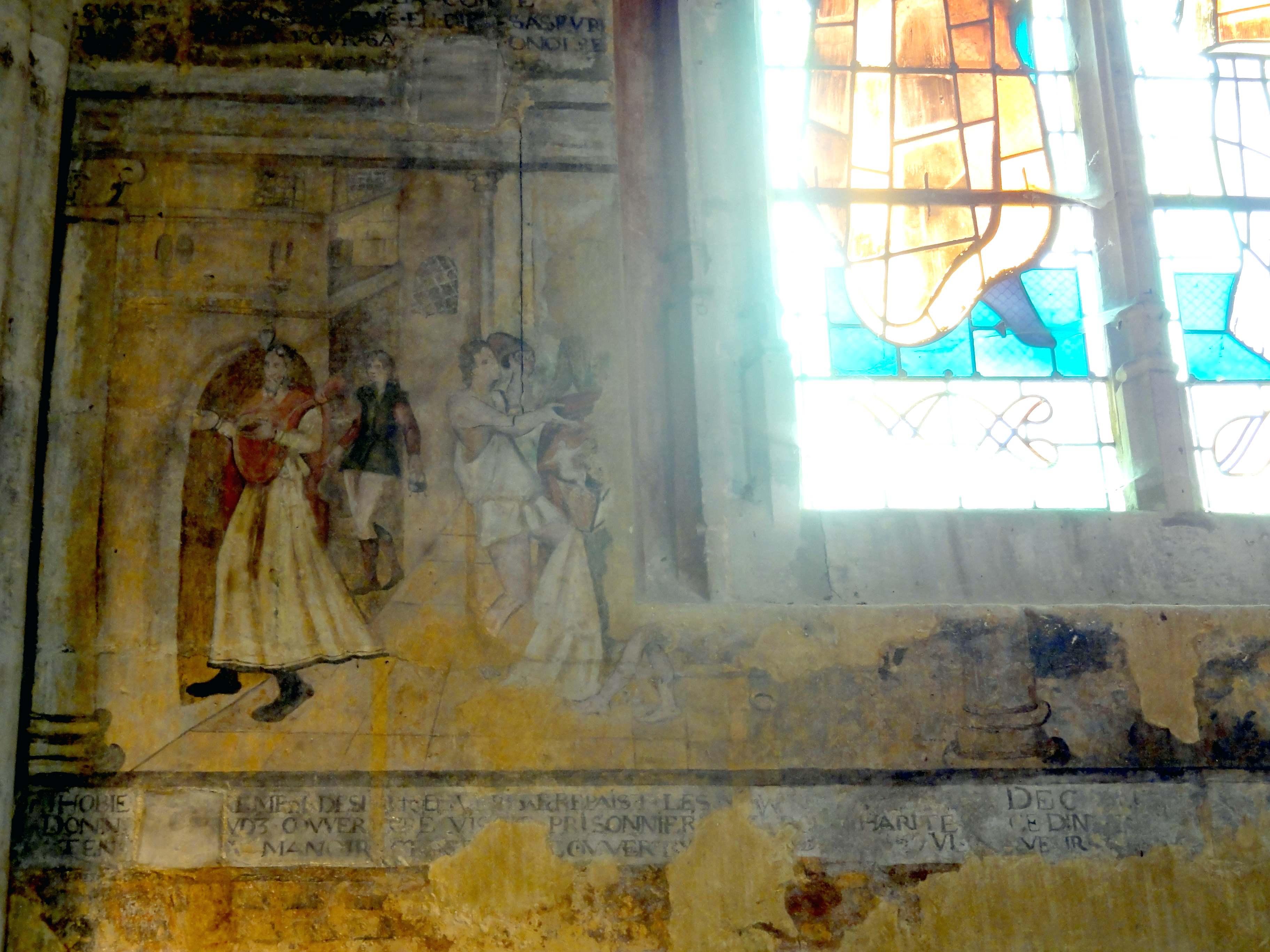 Fichier v theuil 95 glise notre dame chapelle de la for Les differents types de peintures murales