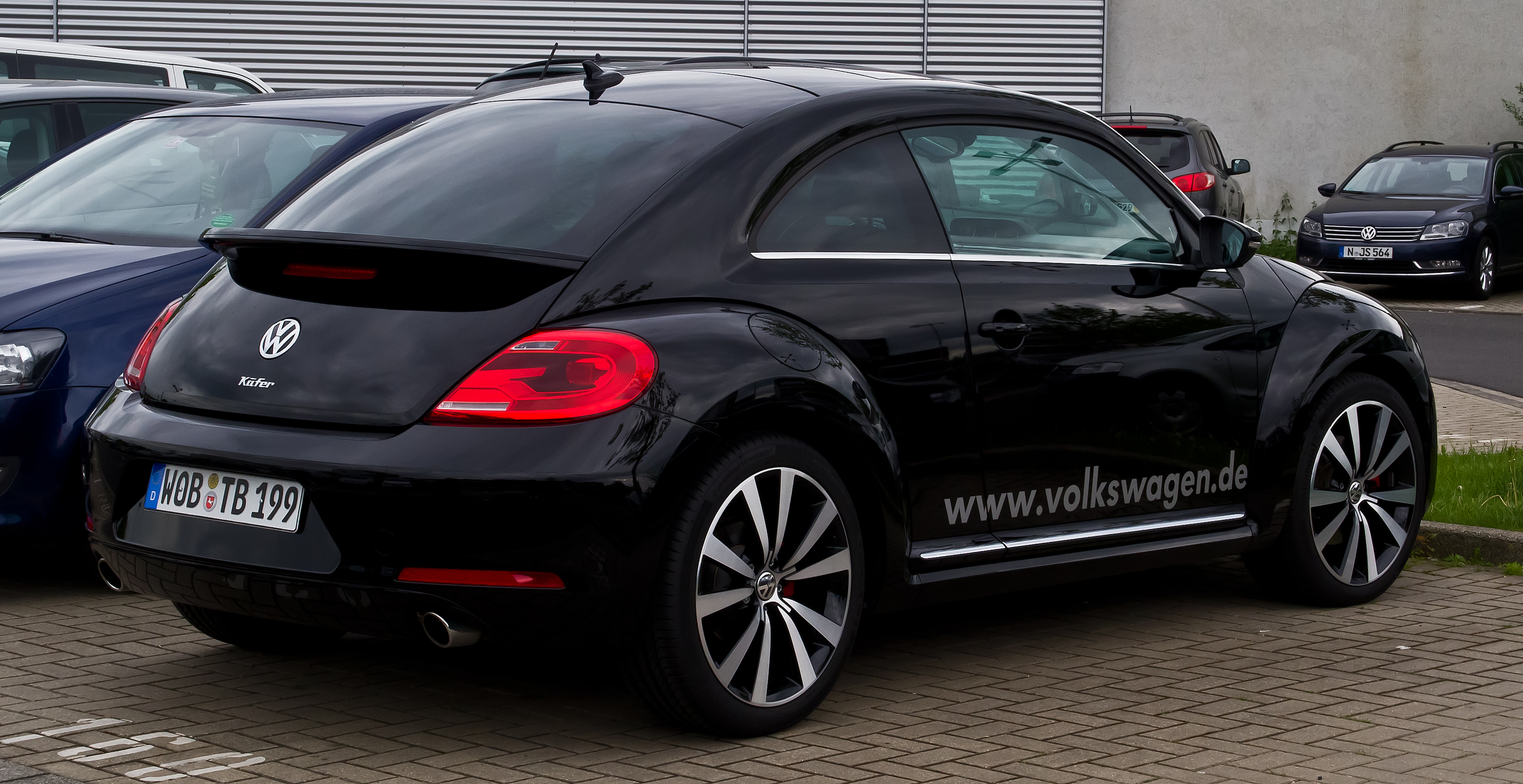 File Vw Beetle 1 4 Tsi Exclusive Sport Heckansicht 10
