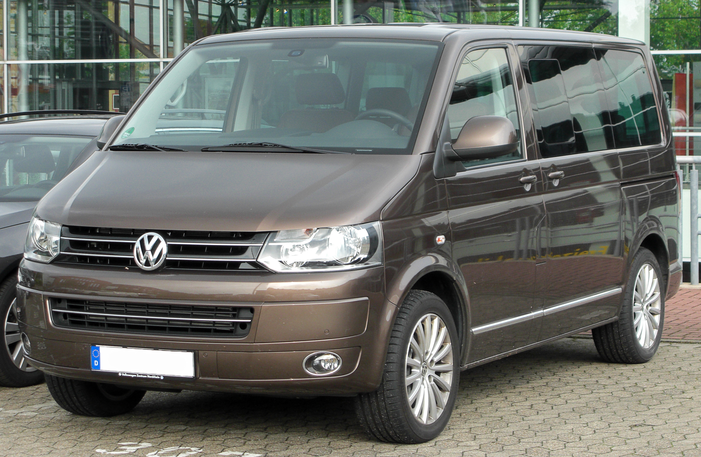 File Vw Multivan Tdi T5 Facelift Front 20100612 Jpg