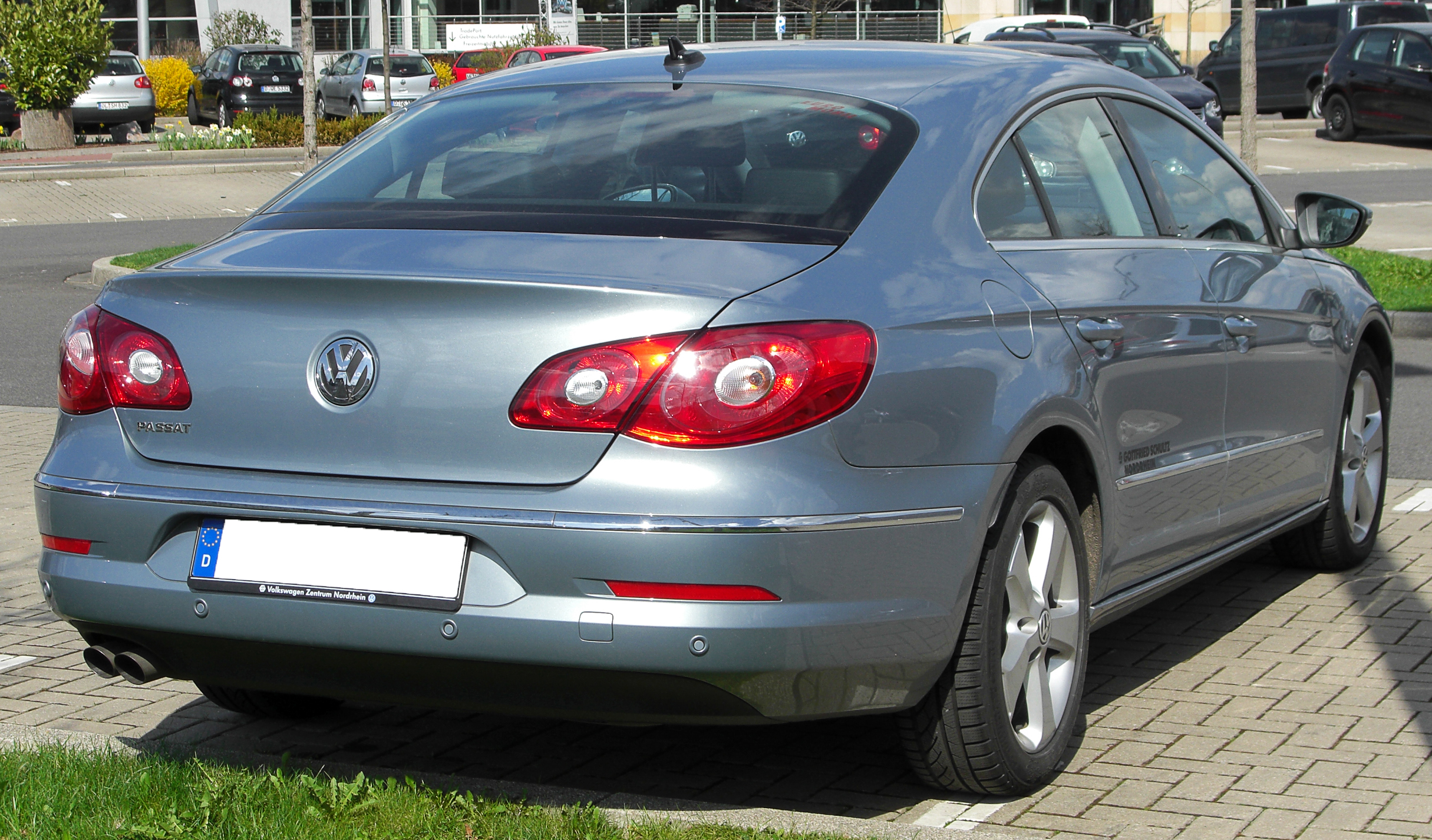 File:VW Passat CC rear 20100402.jpg - Wikimedia Commons
