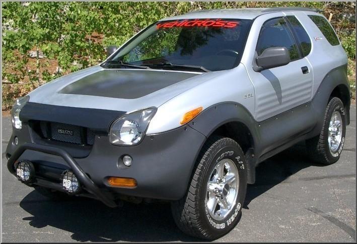 I Think An Isuzu Vehicross Would Make Subaru