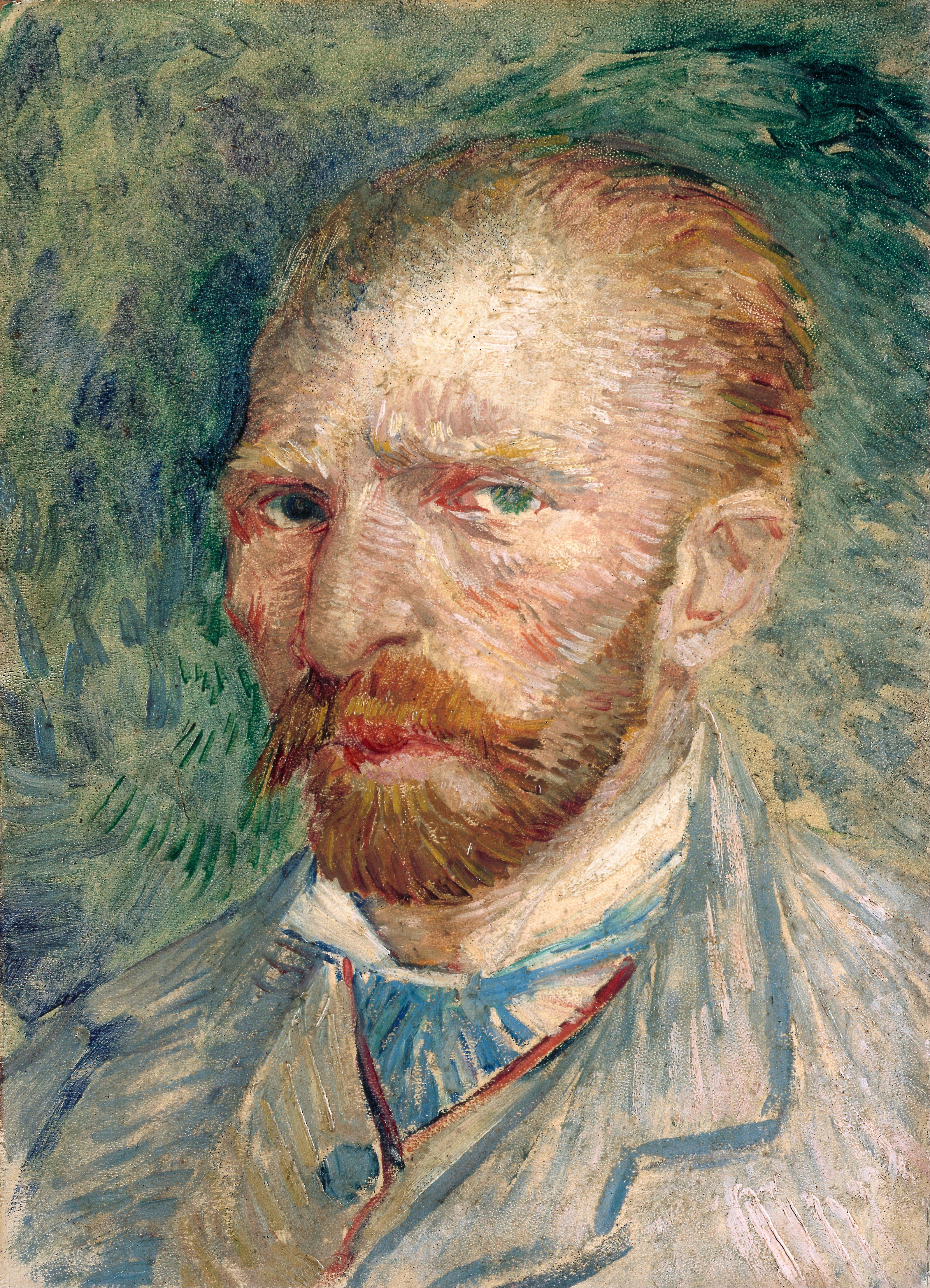 File:Vincent van Gogh - Self-portrait - Google Art Project.jpg ...