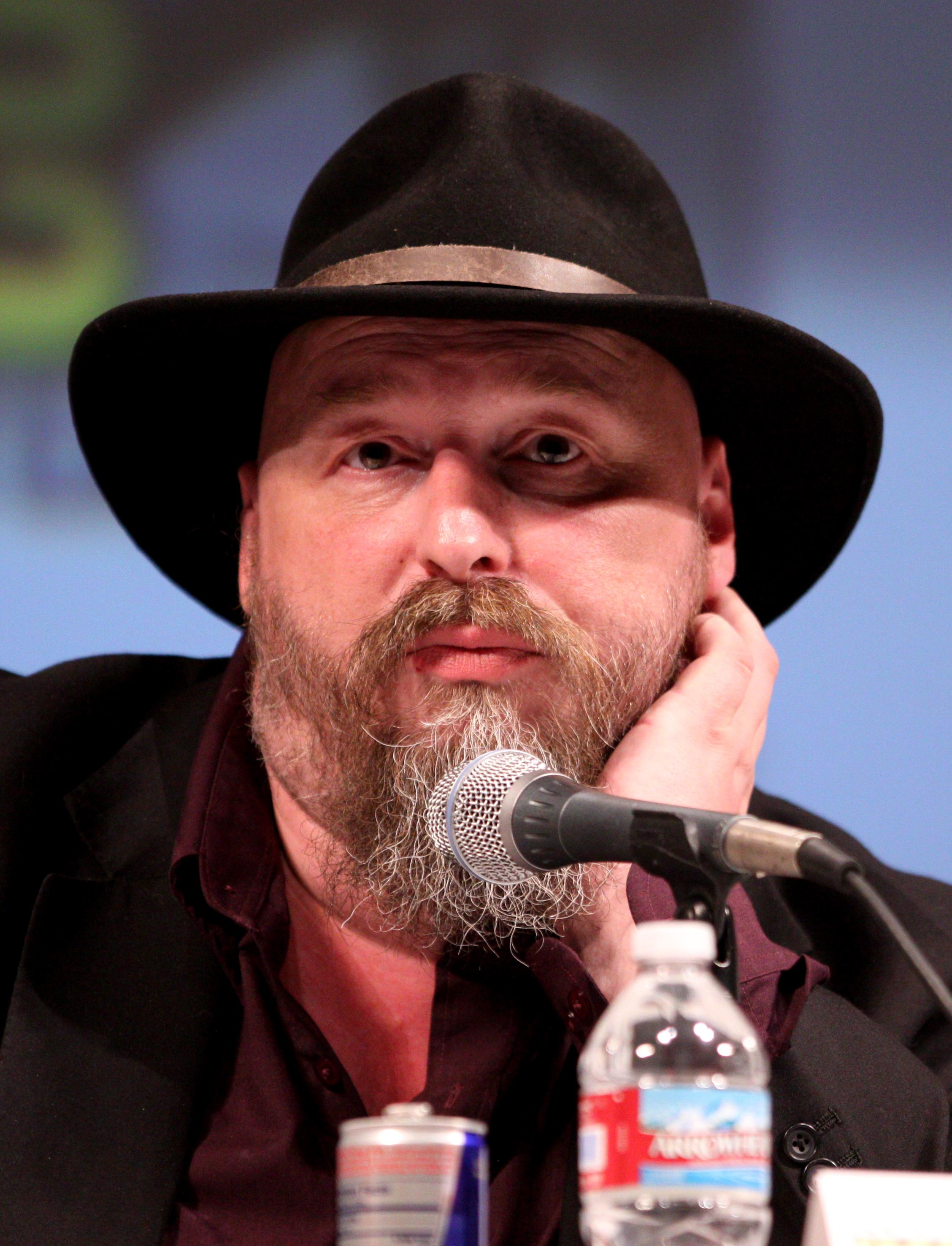 Ellis at Comic Con in 2010
