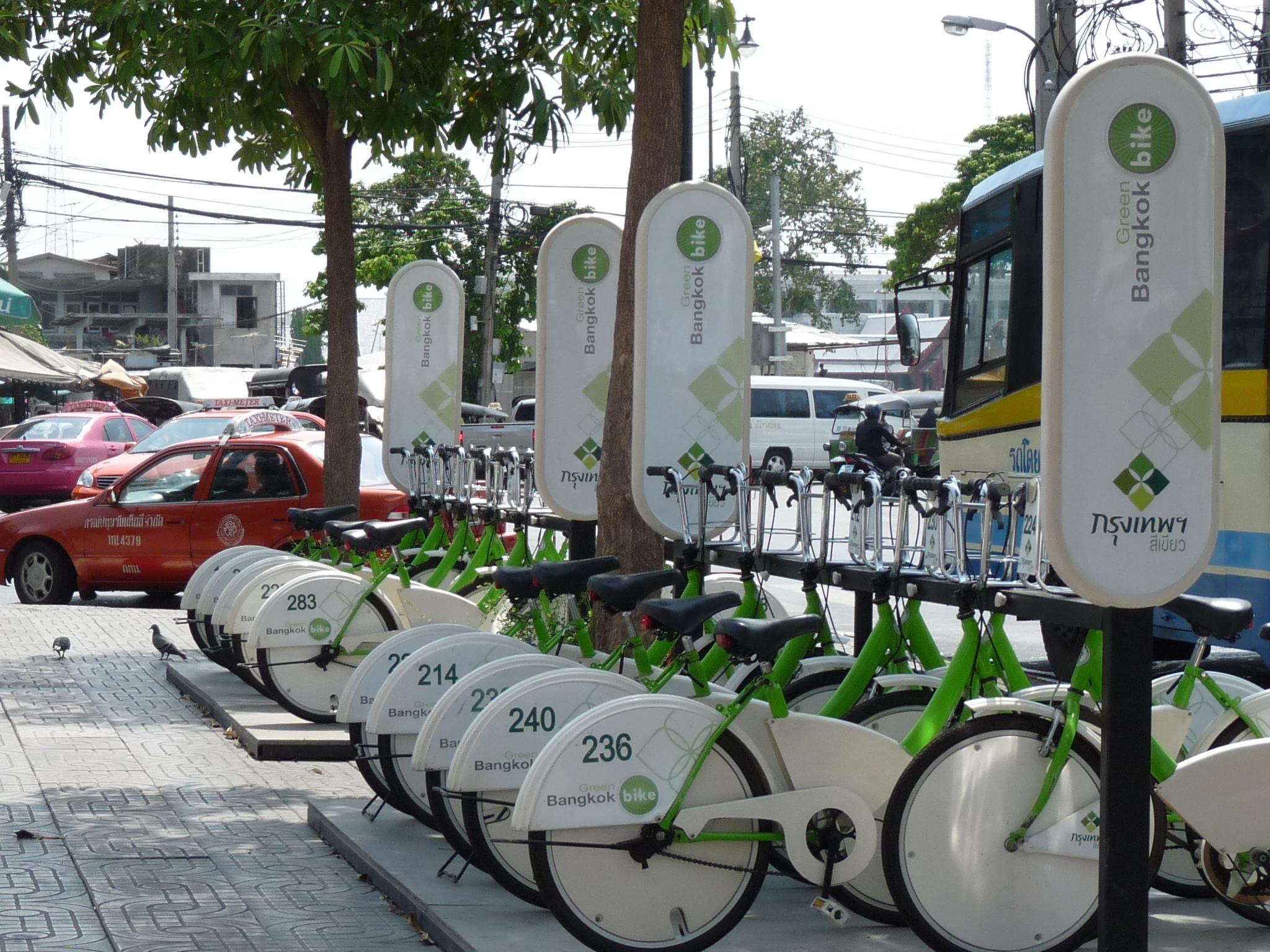 Fahrradverleih Bangkok