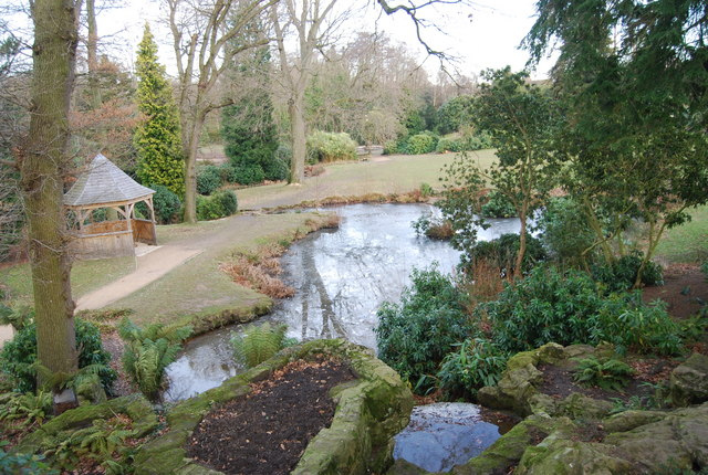 Water Gardens, Dunorlan Park - geograph.org.uk - 1117446