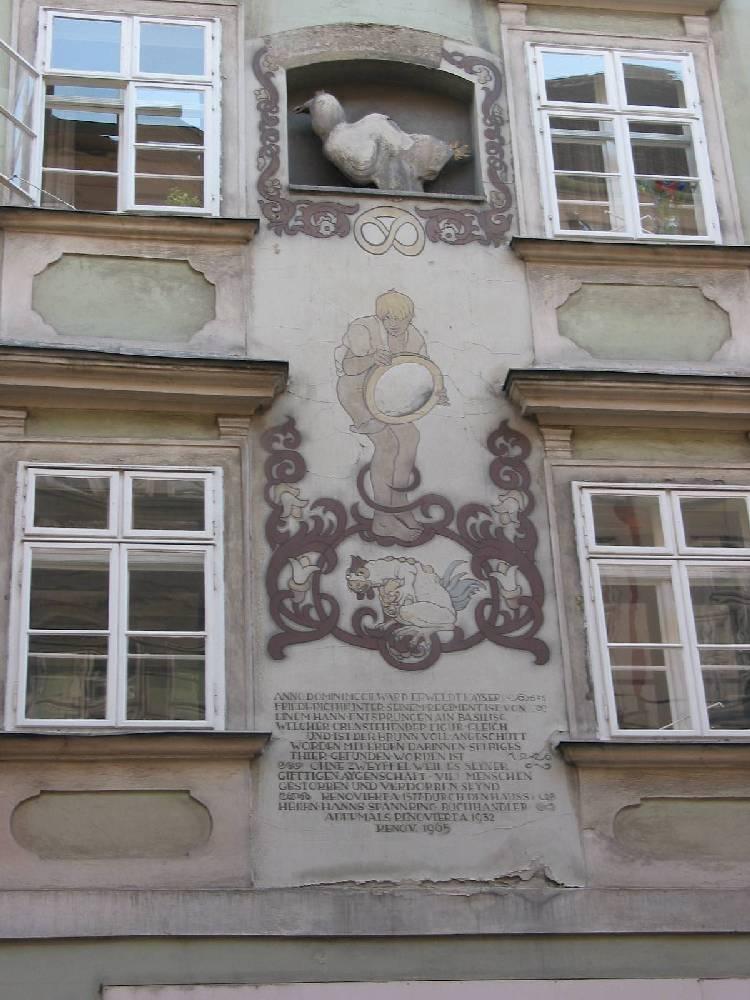 Wien Haus Schönlaterngasse Nr. 7