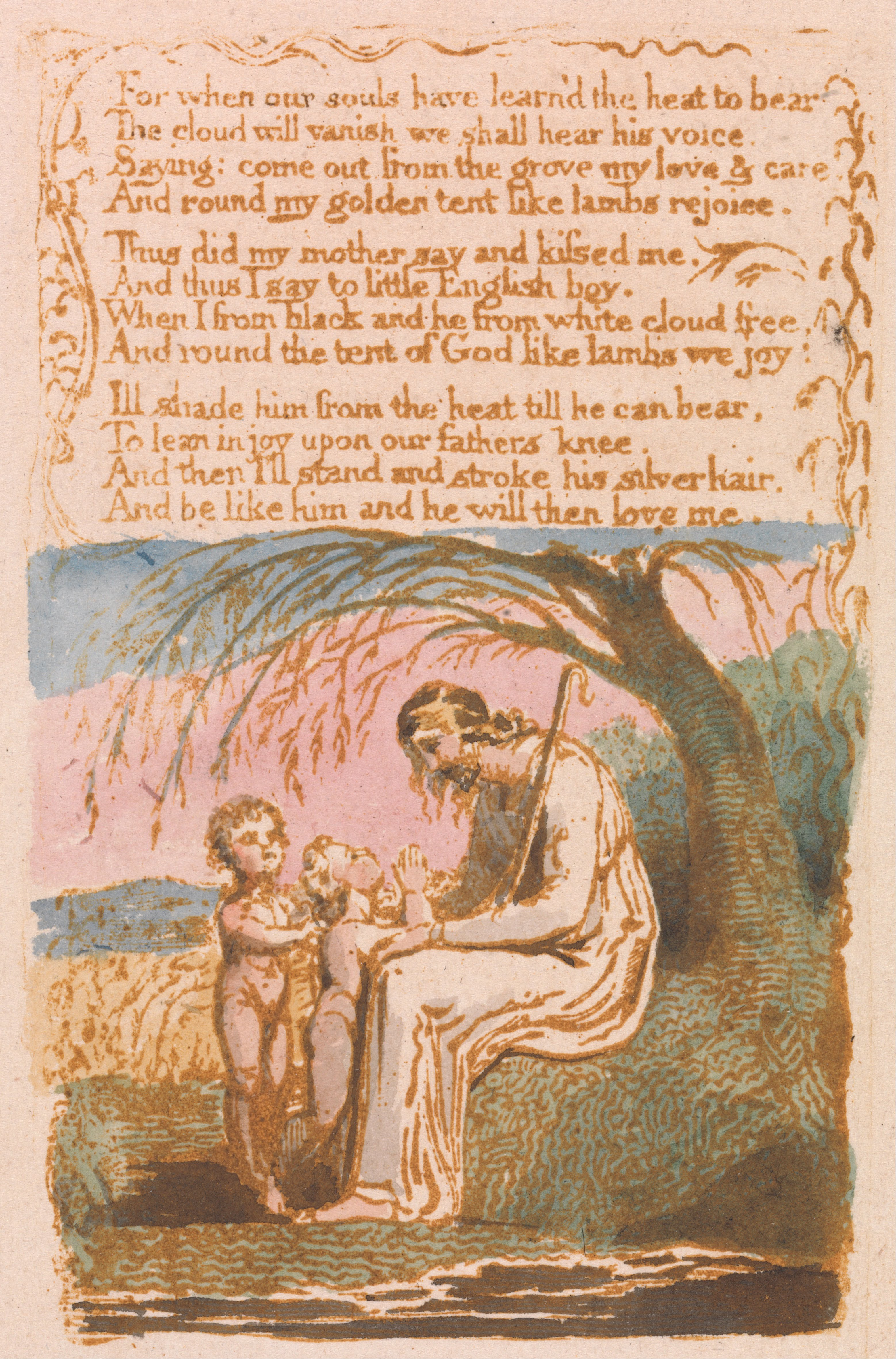 william blakes the little black boy essay Free william blake papers, essays william blake's the little black boy 1802 the figure of the poet as it pertains to william blake and william.