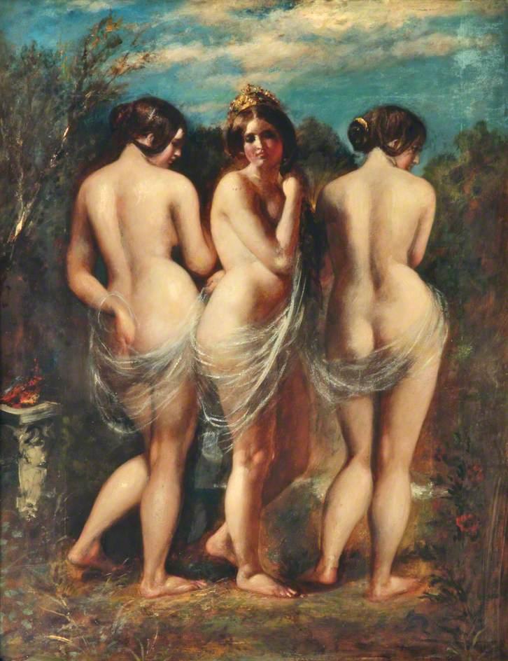 William Etty - The Three Graces, 1840s.jpg