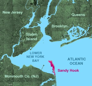 English: Sandy Hook © 2004 Matthew Trump