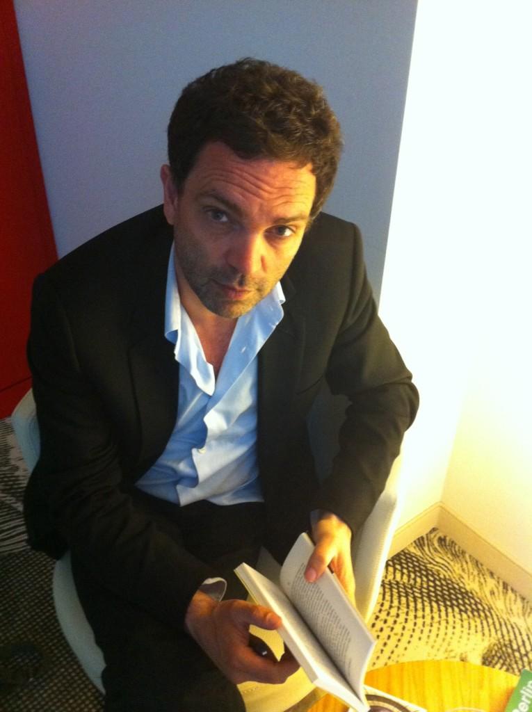 Yann Moix en mai 2011. Photo de Talita1, sous CC-BY-SA