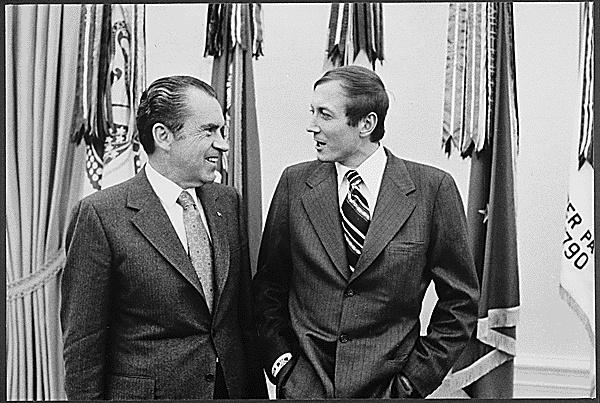 Ричард Никсон и Евгений Евтушенко