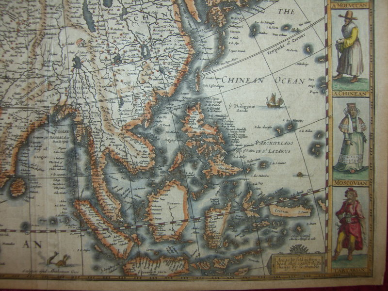fileasia with the islands adioyning described a map
