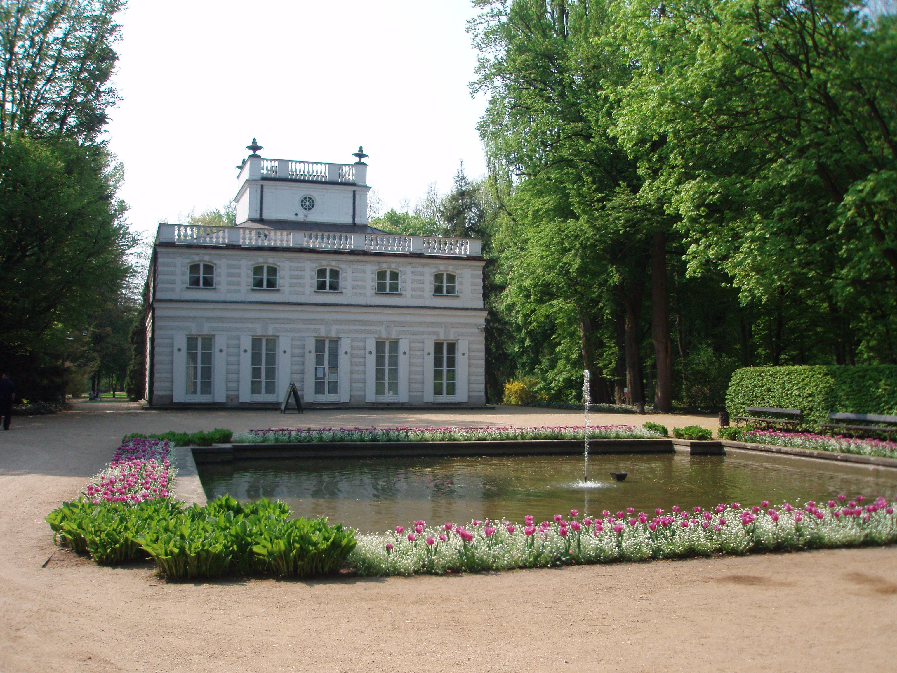 Filełazienki Królewskie Panoramio 3jpg Wikimedia Commons