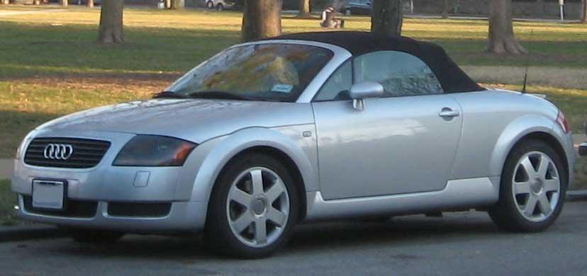 File:1st Audi TT convertible.jpg - Wikimedia Commons