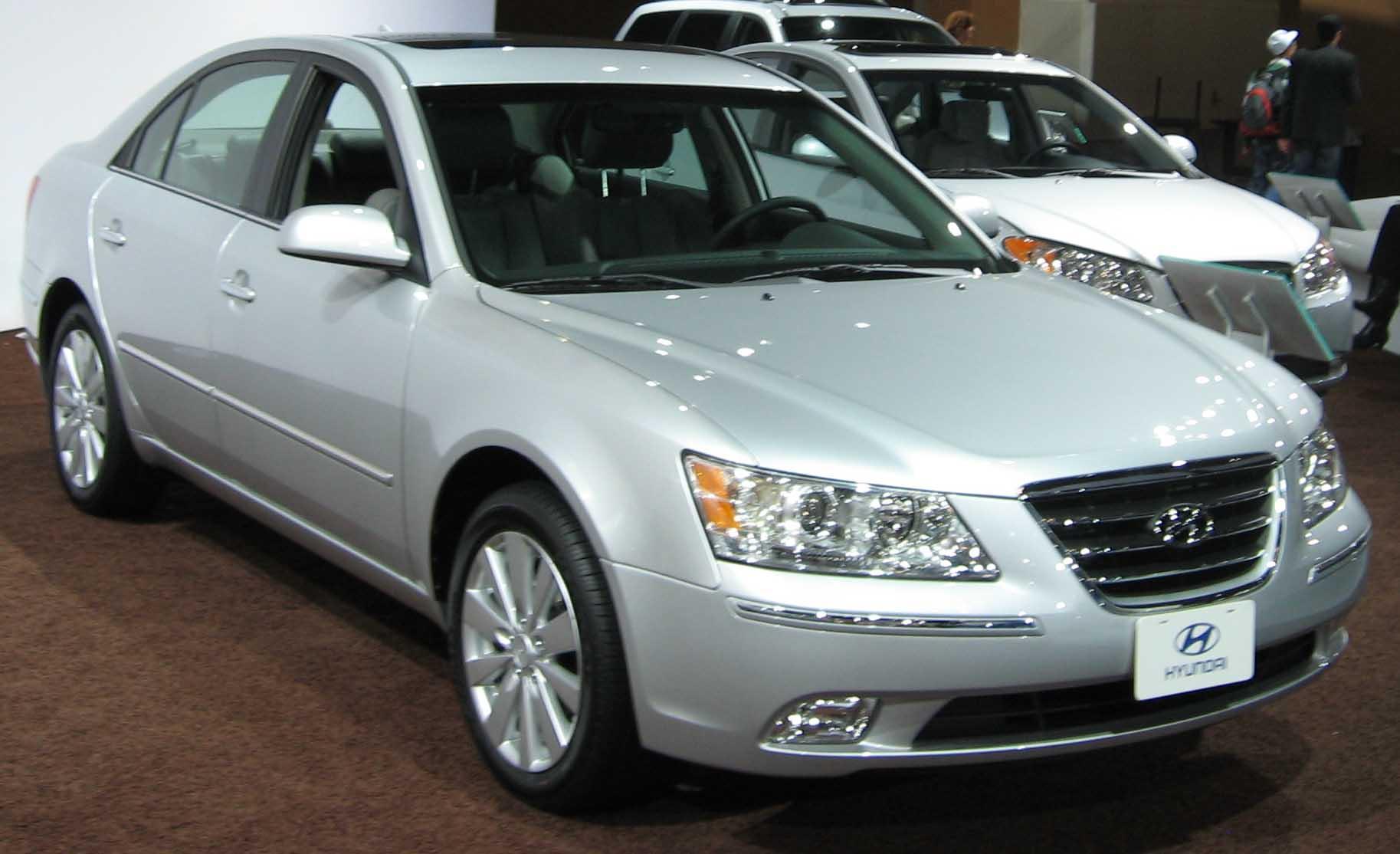 2009 Hyundai Sonata Wallpaper