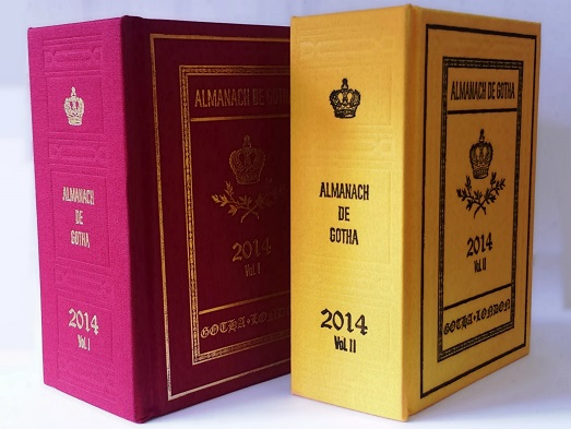 2014 Almanach de Gotha Covers