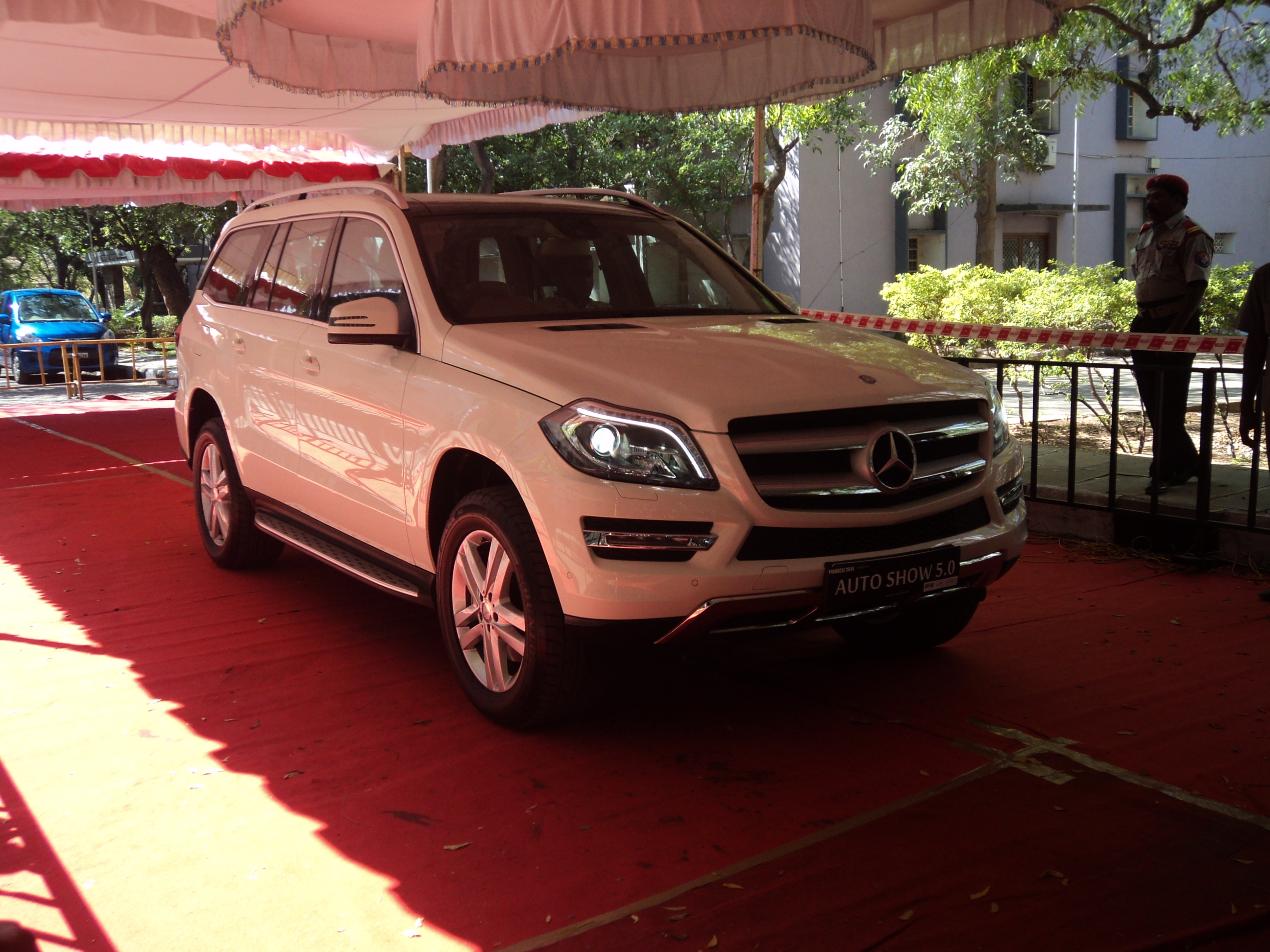 File a mercedes benz at the autoshow at anna university at for Mercedes benz chennai