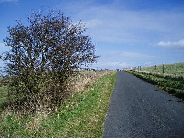 Access road to Truleigh Hill - geograph.org.uk - 723332