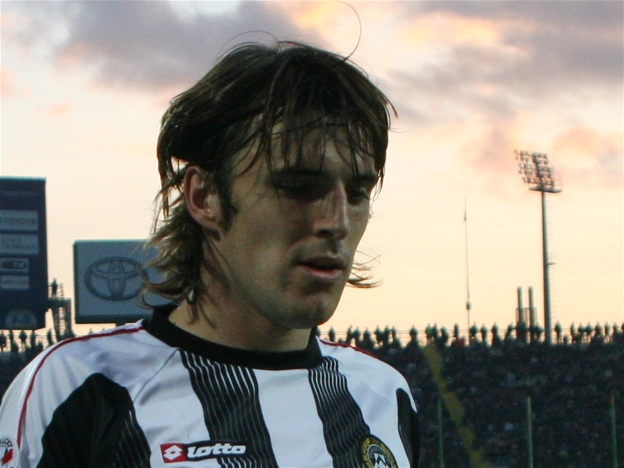 Luković with [[Udinese Calcio|Udinese]] in 2007