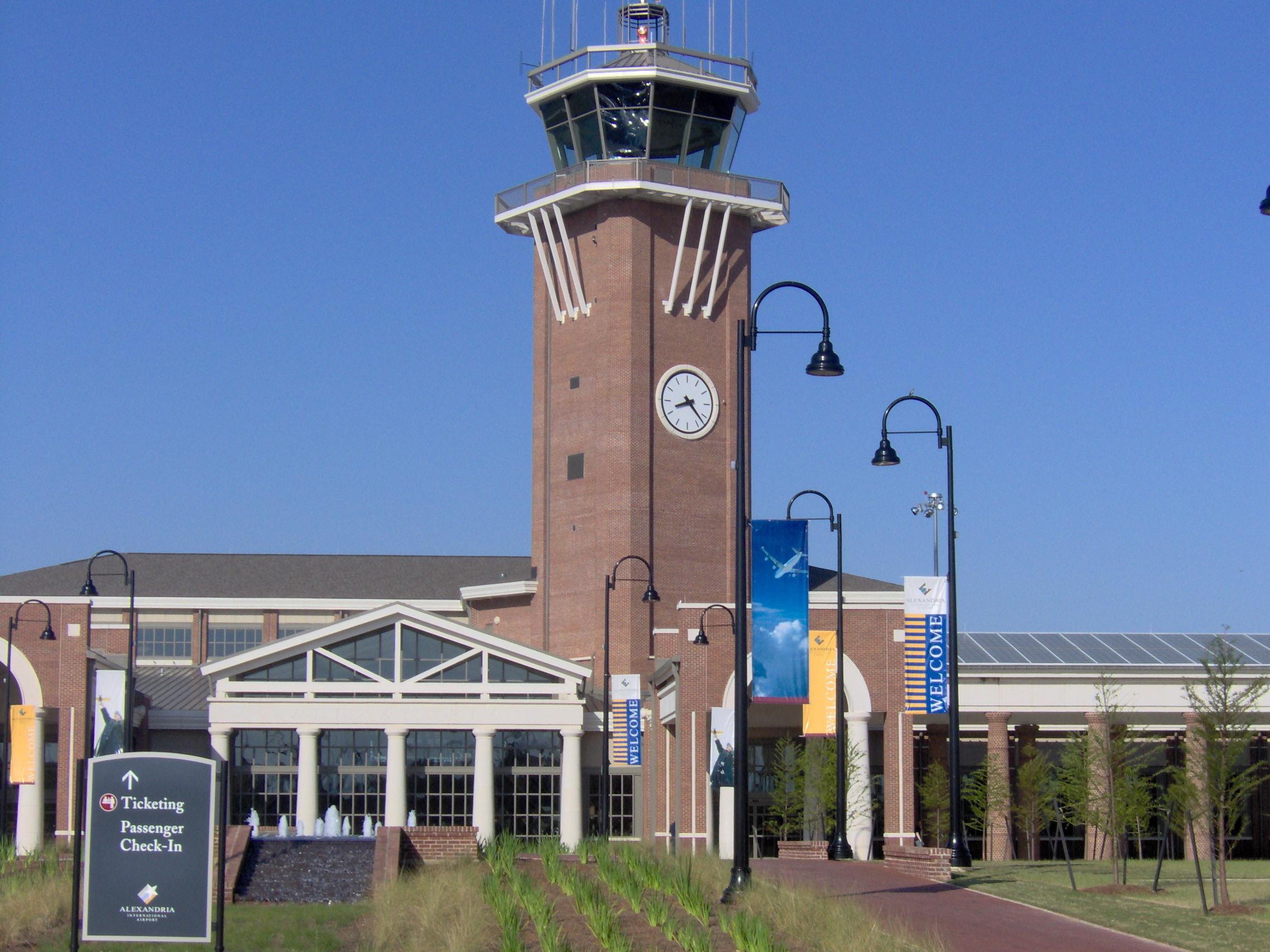 File:Alexandria International Airport Terminal, Alexandria