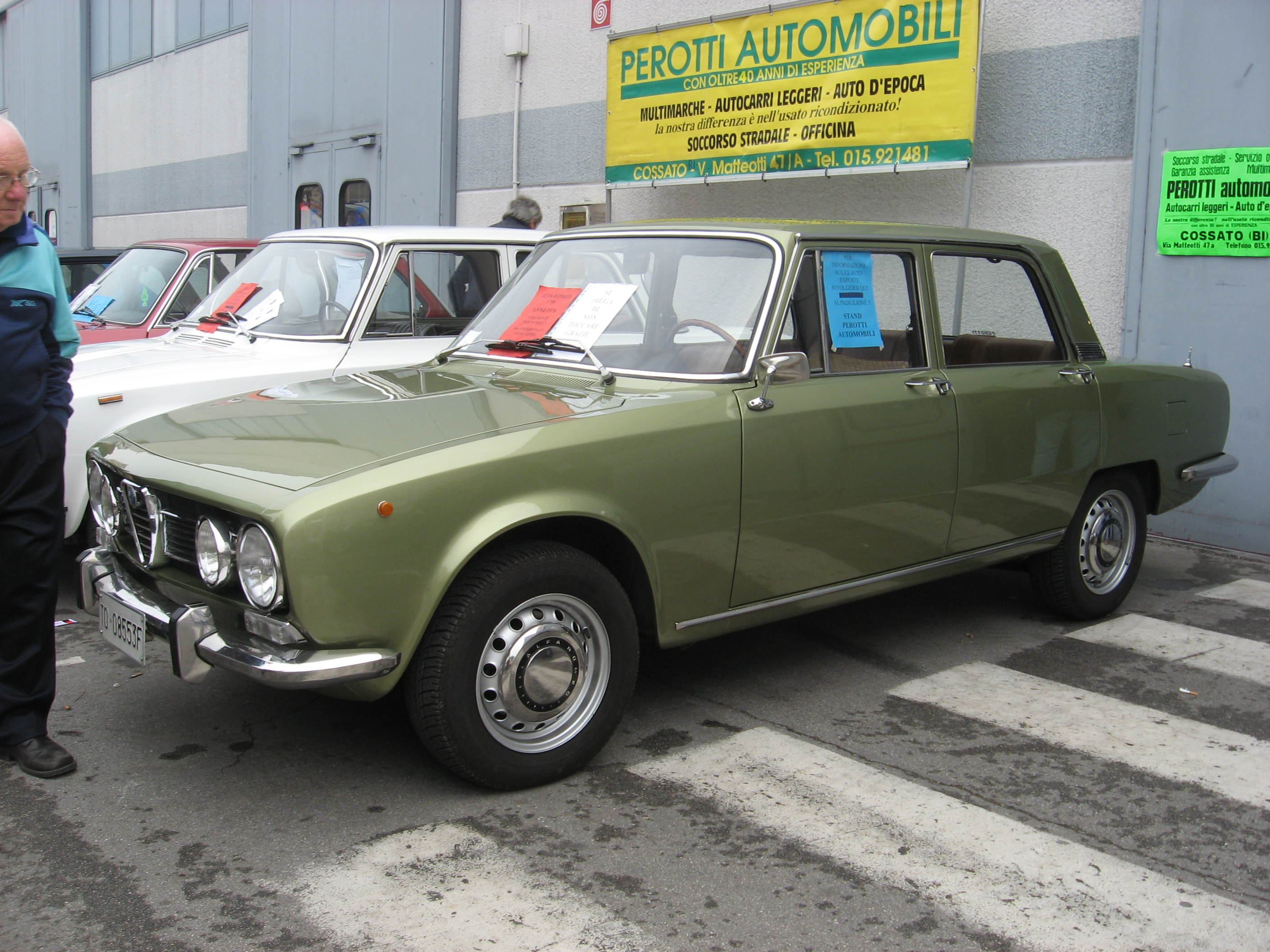 File:Alfa Romeo 1750 berlina Green.JPG - Wikimedia Commons
