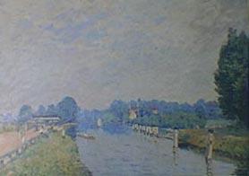 Bords de rivière (Orillas del río) (La Tamise à Hampton Court, premiers jours d'octobre)