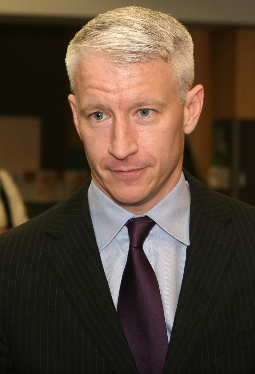 Anderson Cooper, star of CNN