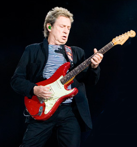 Guitarist Andy Summers performing in Marseille with the group, June 2008 Andy Summers Marseille 2008.png