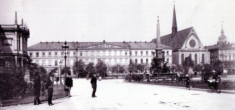 Augusteum Leipzig um 1890