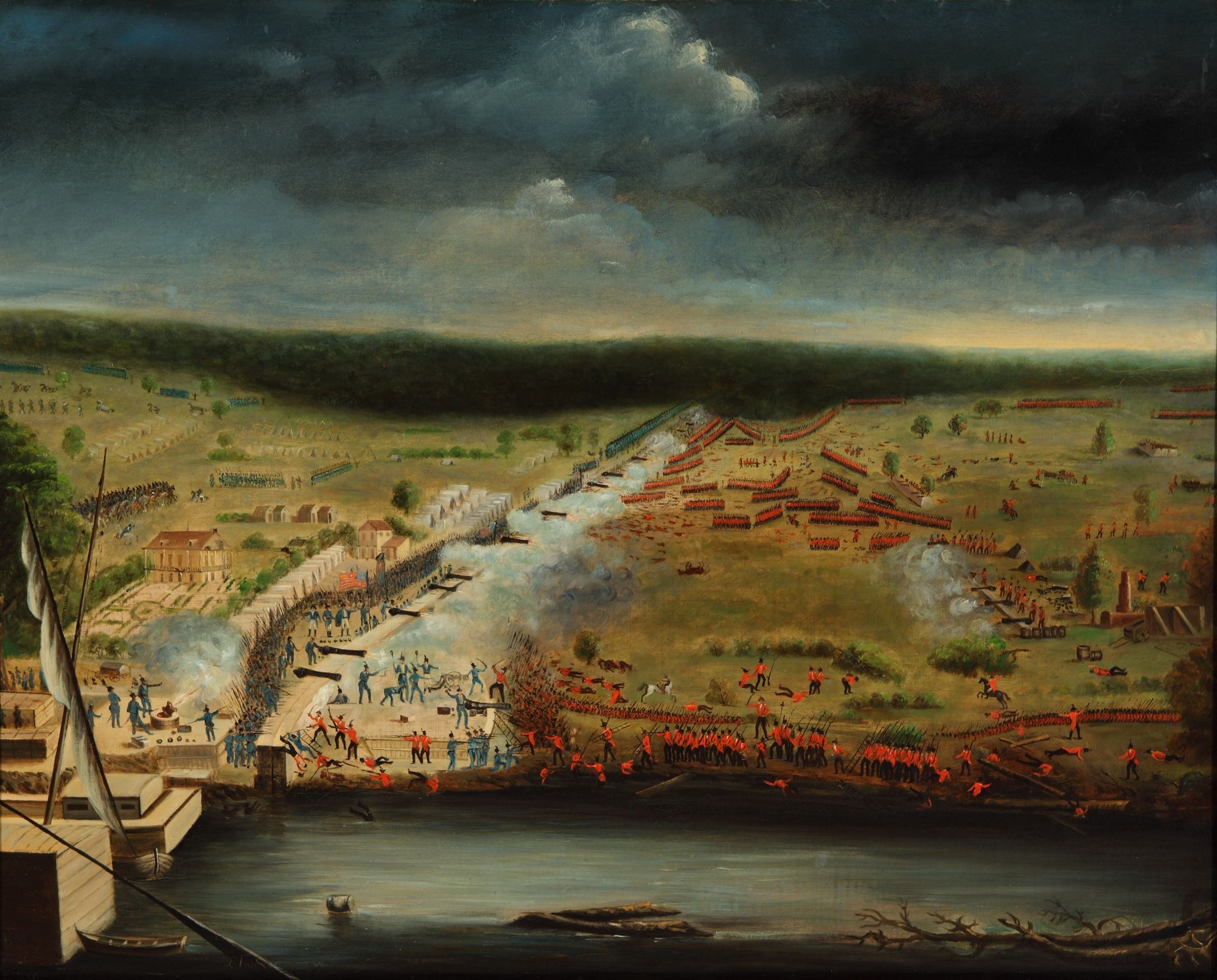 Battle of New Orleans, Jean Hyacinthe de Laclotte.jpg