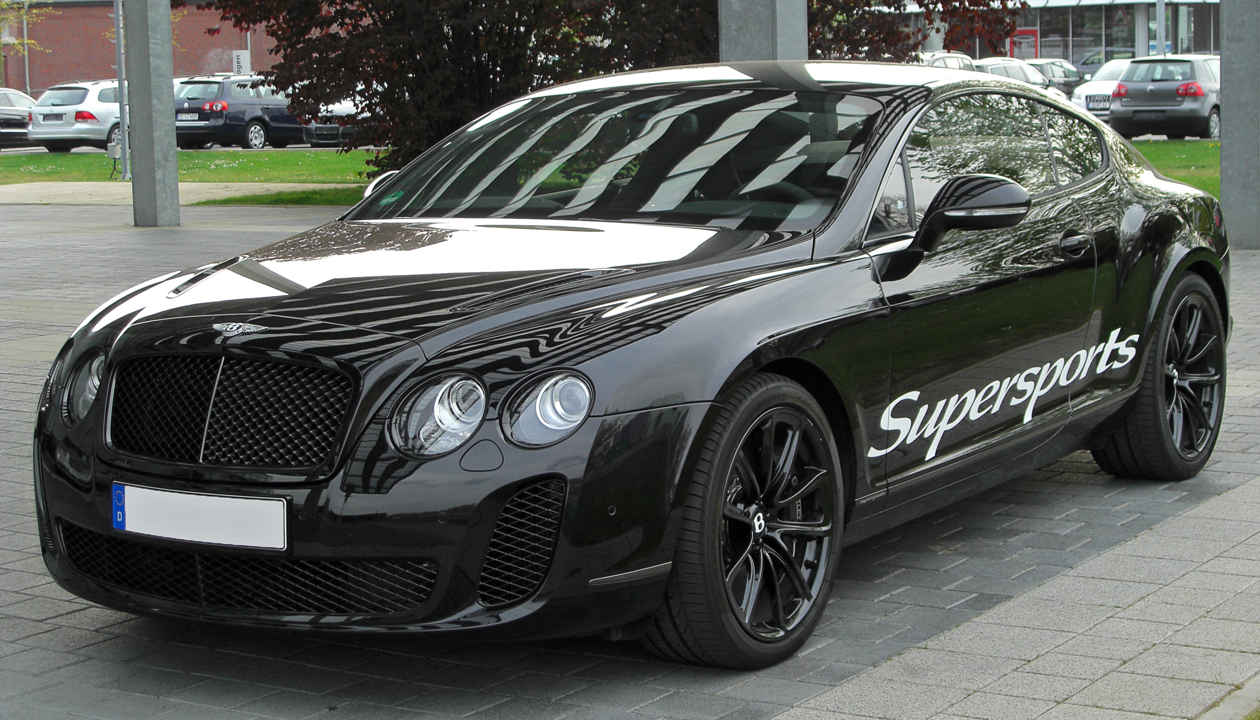 File Bentley Continental Gt Supersports Front 20100425 Jpg Wikimedia Commons