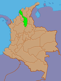 Location of Bolívar