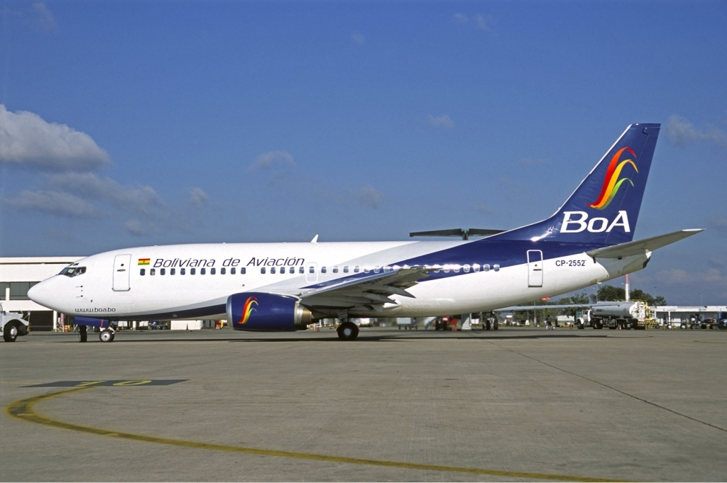 Boliviana De Aviacion Wikipedia